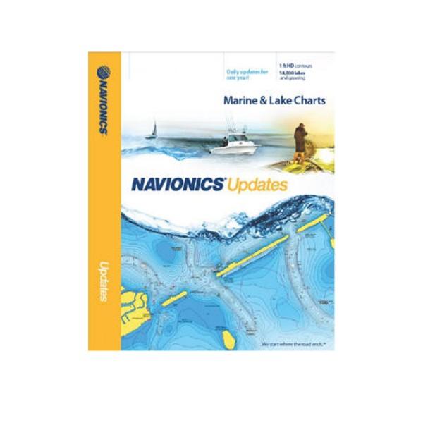 Navionics+ XL9 Update Seekartenrohling