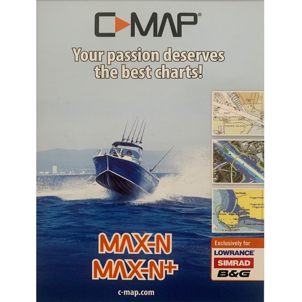 Max-N+ Seekarte
