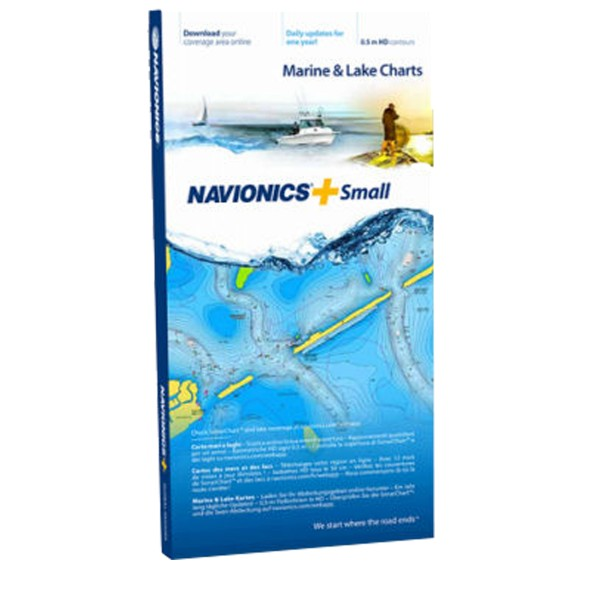Navionics+ Seekarte (Small/XL)