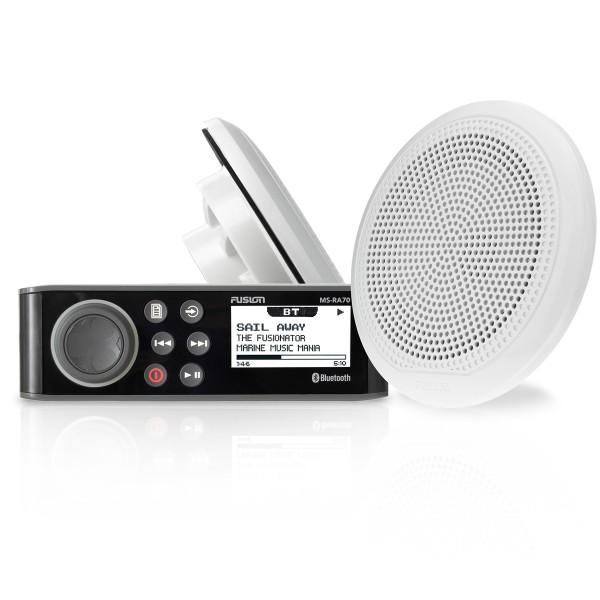 RA70 Marine Radio-Kit mit Lautsprechern