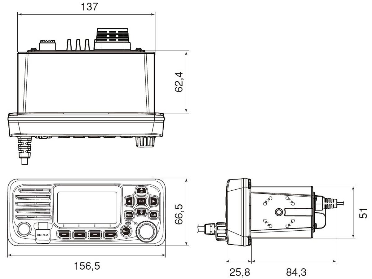 IC-M330GE_Abmessungen