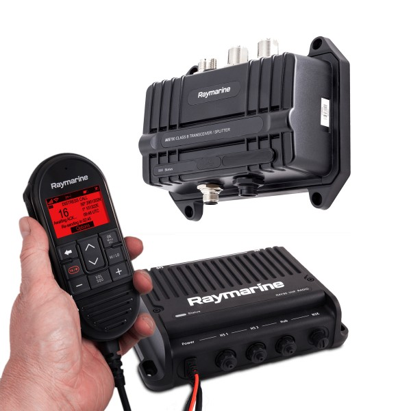 Aktionsbundle: Ray90 Blackbox UKW-Marinefunkgerät mit AIS700 AIS-Transceiver